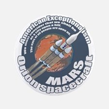 "Orion Spacecraft 2 3.5"" Button (100 pack)"