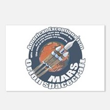 Orion Spacecraft 2 Postcards (Package of 8)