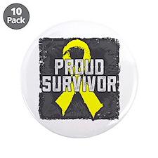 "Testicular Cancer 3.5"" Button (10 pack)"
