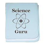 Science Guru baby blanket