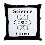 Science Guru Throw Pillow