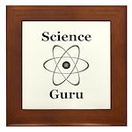 Science Guru Framed Tile