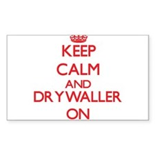 Keep Calm and Drywaller ON Decal