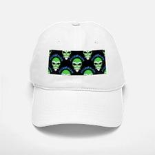 Ancient Alien Head Pattern Baseball Baseball Cap