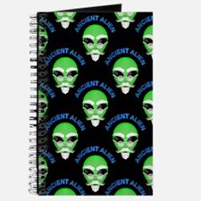 Ancient Alien Head Pattern Journal