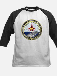 USS George H. W. Bush CVN-77 Baseball Jersey