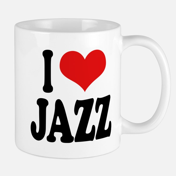 I Love Jazz Mug