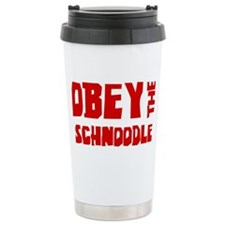 Cute Schnoodle Travel Mug