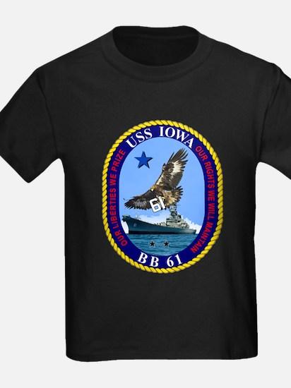 USS Iowa BB-61 T-Shirt