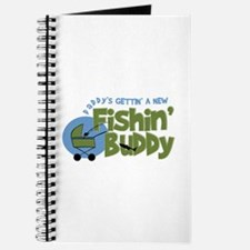 Daddy's New Fishing Buddy Journal