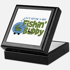 Daddy's New Fishing Buddy Keepsake Box