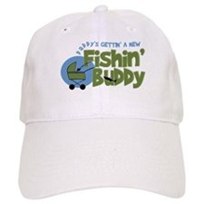 Daddy's New Fishing Buddy Baseball Cap