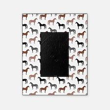 Elegant Horse Pattern Picture Frame