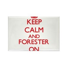 Keep Calm and Forester ON Magnets