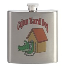 Cajun Yard Dog Flask