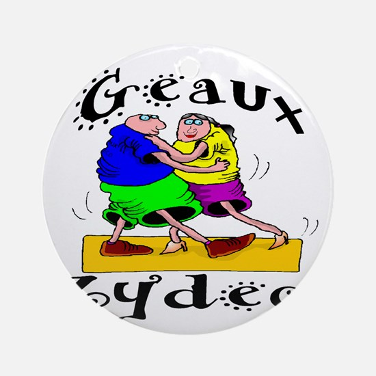 Geaux Zydeco Ornament (Round)