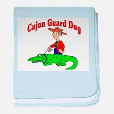 cajun guard dog baby blanket