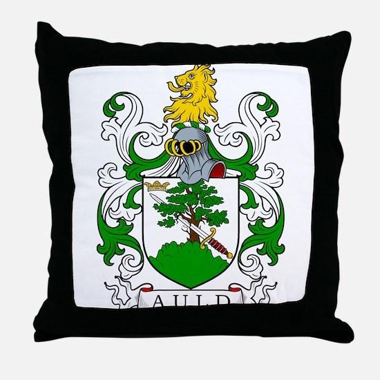 Auld Coat of Arms I Throw Pillow