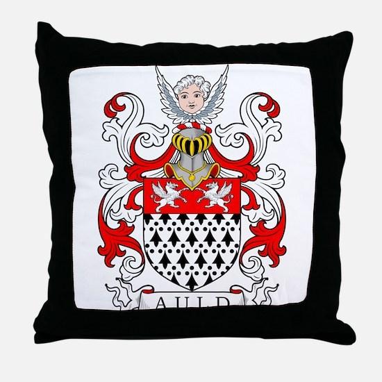 Auld Coat of Arms II Throw Pillow