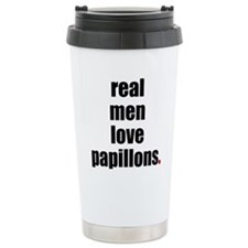 Unique Papillon Travel Mug