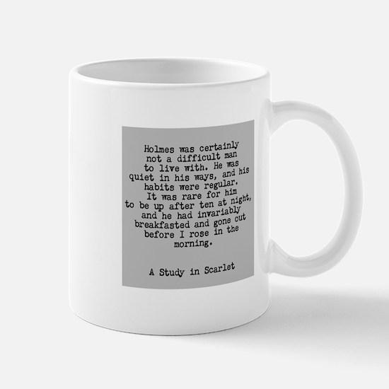 Holmes Excerpt Mug Mugs