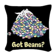 Got Beans? Woven Throw Pillow