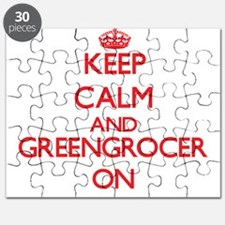 Keep Calm and Greengrocer ON Puzzle