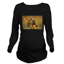 bloodhound Long Sleeve Maternity T-Shirt