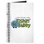 Grandpa's New Fishing Buddy Journal