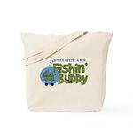 Grandpa's New Fishing Buddy Tote Bag