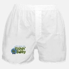Grandpa's New Fishing Buddy Boxer Shorts