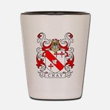 Cray Coat of Arms II Shot Glass