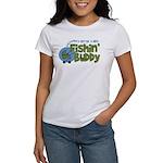 Grandpa's New Fishing Buddy Women's T-Shirt