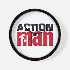 Action Man Wall Clock
