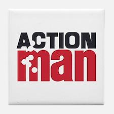 Action Man Tile Coaster