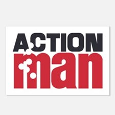 Action Man Postcards (Package of 8)