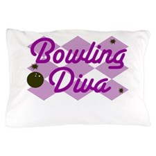 Bowling Diva Pillow Case