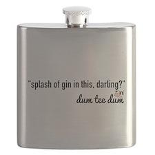 splash of gin Flask