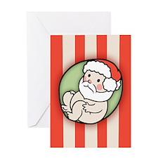 santa is Greeting Card