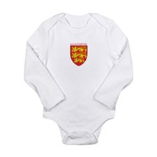 Unique Vintage football Long Sleeve Infant Bodysuit