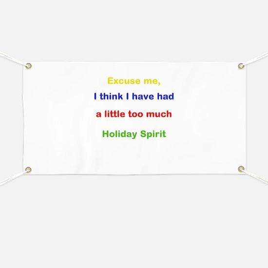 Holiday Spirit Banner