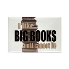 Cute Big books Rectangle Magnet