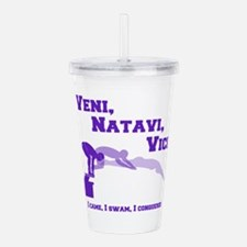 VENI-NATAVI-VICI Acrylic Double-wall Tumbler