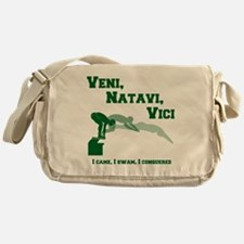 VENI-NATAVI-VICI Messenger Bag