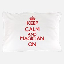 Keep Calm and Magician ON Pillow Case