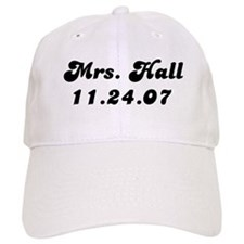Mrs. Hall 11.24.07 Baseball Cap