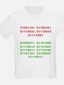 Merry Christmas in Binary T-Shirt
