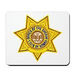 Hawaii Sheriff Mousepad