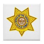 Hawaii Sheriff Tile Coaster