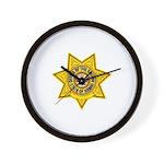 Hawaii Sheriff Wall Clock